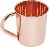 100% COPPER MOSCOW MULE MUG PLAIN COCKTAIL  Authentic Gift India Christmas