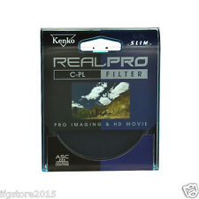 New Genuine Kenko REALPRO CPL 58mm Filter Anti-Stan Coating Filter Made in Japan