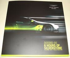 Le Mans FIA WEC 2017 Silverstone LMGTE PRO Aston Martin Racing #95 Signed Card