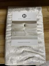 Hotel Collection Plume Standard Pillow Sham White $120