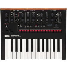 Korg Monologue Monophonic Analogue Synthesizer - Black, New!