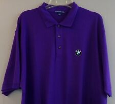 BMW Motors Mens Embroidered Polo Sport Golf Shirt S to 6XL, LT-4XLT New