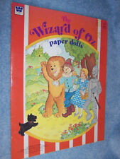 1976 Whitman Wizard of Oz Paperdolls Vintage Paper Doll