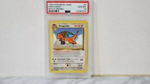 1999 Pokemon Base Set Movie Promo Dragonite #5 PSA 10 GEM MINT