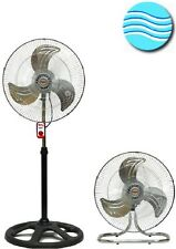 """Brand New 18"""" Stand Table  2 in 1 Fan"""