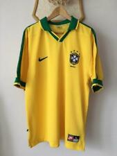 BRAZIL 1997 1998 CUP CONFEDERATIONS HOME FOOTBALL SOCCER SHIRT JERSEY NIKE ADULT