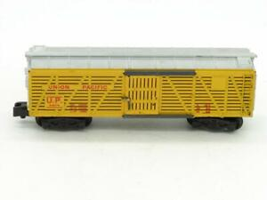 American Flyer S Gauge 24076 Union Pacific Cattle Car for Fix Pikemaster Coupler