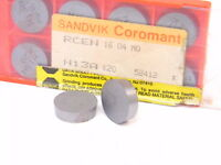 NEW SURPLUS 10PCS. SANDVIK  RCEN 1604MO  GRADE: H13A CARBIDE INSERTS