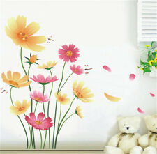 Blooming Little Flowers Home Room Decor Removable Wall Sticker Decal Decoration