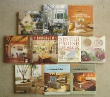 Lot/Collection of 10 Modern Interior Design Coffee Table Books, from 2000 & up