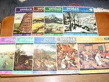 THE COMPLETE DVORAK SYMPHONIES WITH OVERTURES. ISTVAN KERTESZ / LSO 9 LP  EX+