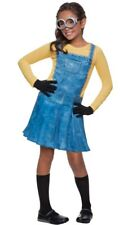 Rubies Female Girl Minion Child Small Costume 610786 Despicable Me Overall Dress