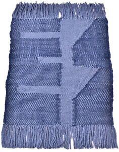 2x3 Ft Traditional Rugs Handmade Carpets Blue Door Mat Wool Indoor/Outdoor Rugs
