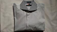 John Sparks Milano Men Long Sleeve French Cuff Dress Shirt - Size 15 1/2 (32/33)