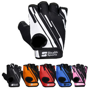 WEIGHT LIFTING GYM GLOVES BODYBUILDING WORKOUT FITNESS CYCLING CROSSFIT TRAINING
