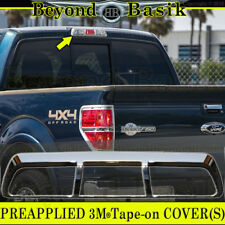 2009-2014 FORD F150 F-150 Triple ABS Chrome Third Brake Light Cover Trim Overlay