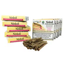 Nirdosh 10 Packungen Kräuterzigaretten Ohne Filter, Methode zur Rauchentwöhnung