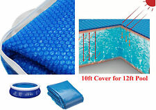 Swimming Pool Heating Floating Solar Cover Summer, Beach, Garden, Outdoor -10ft