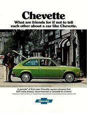 1977 Chevy Chevette literature-16 pages-GM Hatchback Rally Scooter Sandpiper