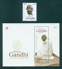 PORTUGAL 2019 MAHATMA GANDHI:150 YEARS * 1 STP+1 SHEET MNH ISSUED 10/02