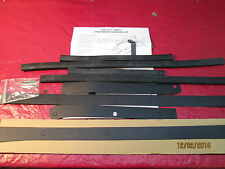 1947,48,49,50,51,52,53 & 54 CHEVY & GMC TRUCK FRONT FENDER 8 PC RUBBER SEAL KIT