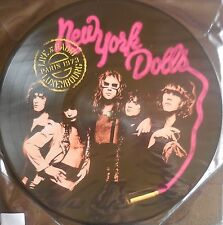 NEW YORK DOLLS live at radio luxembourg paris 1973 Picture LP NEU OVP/Sealed