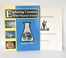 Lot Text Solution Exploring Creation with Physical Science Wile Home School Test