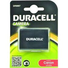 HIGH END DURACELL Foto Kamera Akku Ersatzakku für Canon EOS 1100D 1200D LP-E10