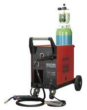 Sealey Mightymig210 Professional Gas/No-Gas MIG Welder 210Amp with Euro Torch