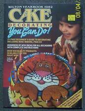 WILTON 1982 CAKE DECORATING YEARBOOK Pan Instructions + FREE SHIPPING