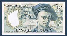 FRANCE-50 FRANCS QUENTIN de la TOUR Fayette n°67.18 de 1992 en NEUF V.71 359298