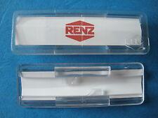 Renz Namensschild mit Speere Für Briefksstenklappe 65x22mm Neu .