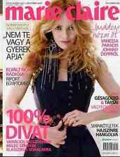 VANESSA PARADIS Full-Cover edition Hungary Fashion Magazine MARIE CLAIRE