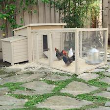 XXL Hühnerstall Hühnerhaus Kaninchenkäfig Hasenstall Hühner Kaninchenstall