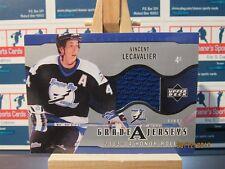 2003-04 Upper Deck Honor Roll Grade A Jerseys #GAVL Vincent Lecavalier Blue