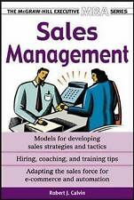 Sales Management by Robert J. Calvin (Paperback, 2004)