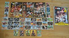 Lego Star Wars Trading Card Game Series 1 Collection Folder + all 252 Complete