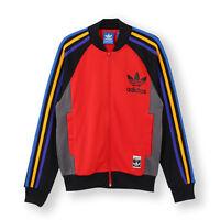 Men Adidas Originals Track Top Jacket Retro Tracksuit  XS M L XL
