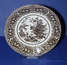 "ENGLISH IRONSTONE TABLEWARE * Vintage Saucer 8 Jardiniere Design * 5.5"" (14cm) *"