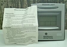 Geo Sonic Global Multi Functioning Weather Station with Calendar Clock Alarm
