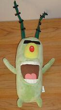 "Viacom Spongebob's PLANKTON 10"" beanbag plush"