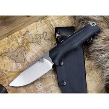 BENCHMADE KNIVES B15008-BLK STEEP COUNTRY HUNTER KNIFE Black Hunting Knives