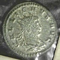 Extremely Rare GALLIENUS Roman Coin 253- 268 AD Aeternitas - Sealed See Photos