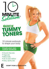 10 Minute Solution: Quick Tummy Toners * NEW DVD * crunch-free yoga abs belly