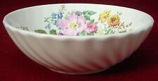 """ROYAL DOULTON china ARCADIA H4802 brown stamp FRUIT BERRY BOWL 5-1/4"""" swirl out"""