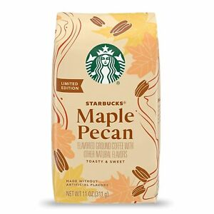 Starbucks Flavored Ground Coffee MAPLE PECAN 100% Arabica 1 bag 11oz