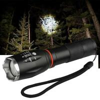 XM-L T6 LED Zoomable 8000 LM 6 Modes Waterproof Flashlight ShadowHawk Torch