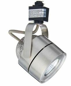 Lithonia Lighting Mesh Back 1 Head Brushed Nickel Integrated LED Track Light
