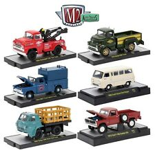 1:64 M2 Machines *AUTO-TRUCKS R42* = COMPLETE SET of 6 *F100 Falcon GMC Wrecker*