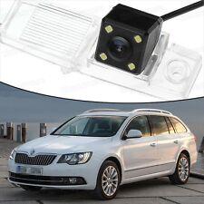 4 LED CCD Rearview Camera Reverse Parking Backup for Skoda Superb Combi 13-15